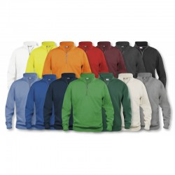 SUDADERA BASIC MEDIA CREMALLERA NORMAL UNISEX