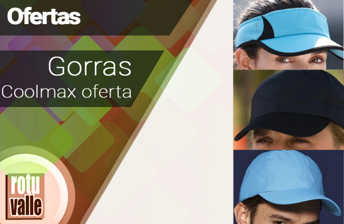 Gorras de Microfibra y Coolmax Oferta