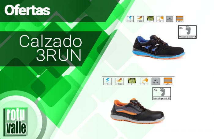 Promoción linea calzado 3RUN